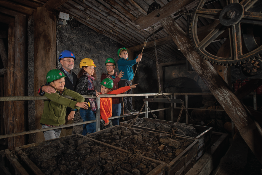 Social event - coal mine trip