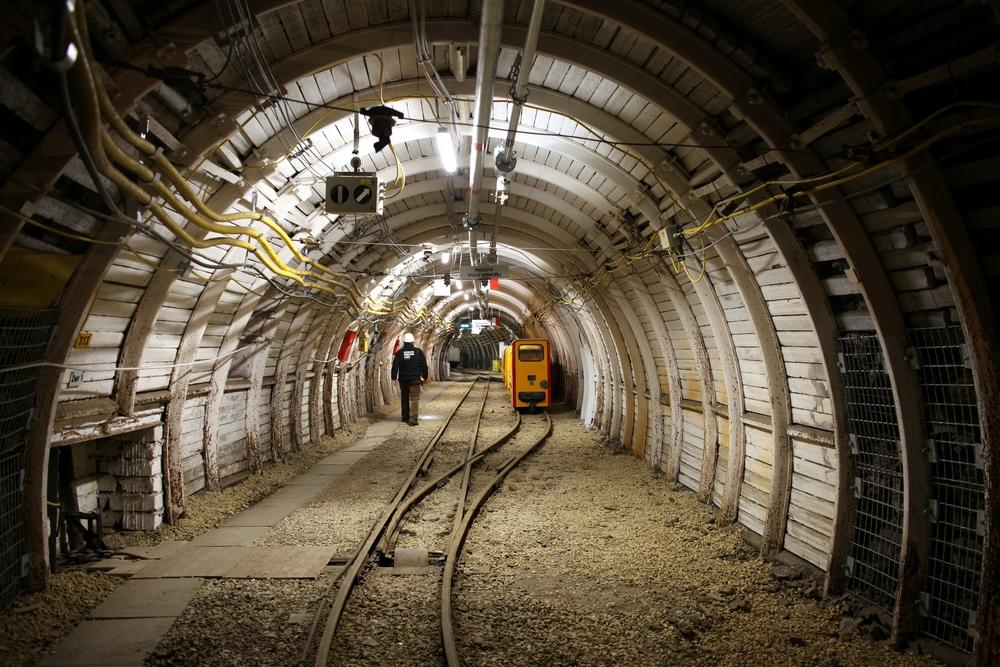 Część podziemna - trasa kolejki Karlik<p> <a href=''></a></p>