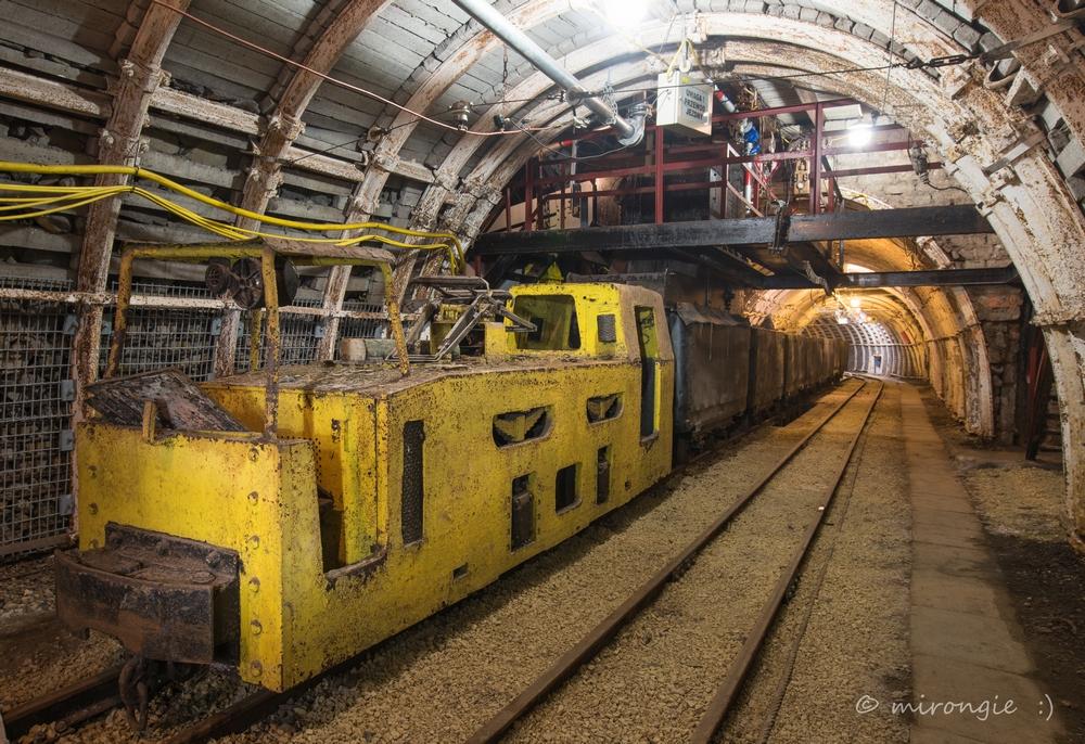 Część podziemna - trasa turystyczna<p> <a href=''></a></p>
