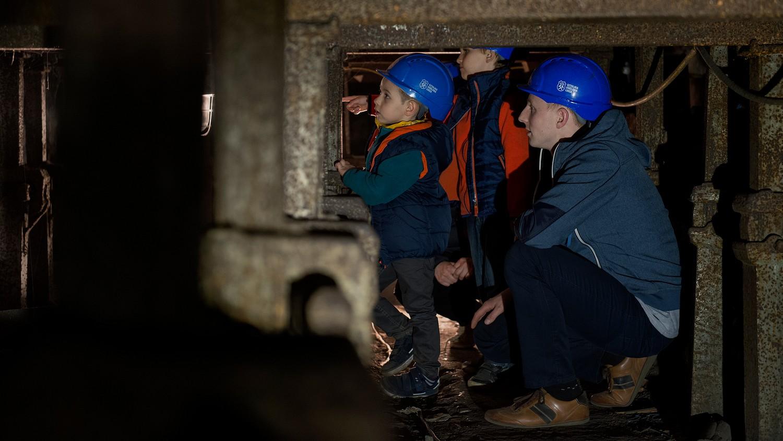 kopalnia krolowa luiza podziemia